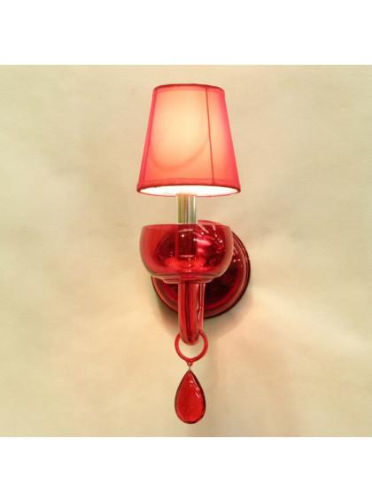 Arandela Clean | CL-302-Vermelho