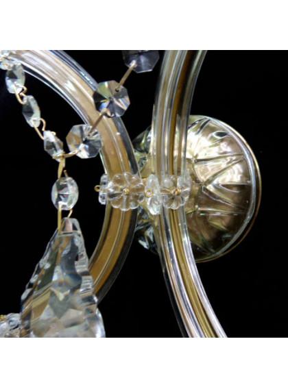 Arandela Maria Teresa   MT-202-2-Ouro Velho