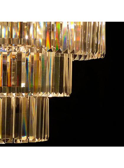 Pendente de Cristal Strati   ST-104-5-Cromado