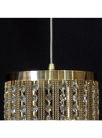 Pendente de Cristal Strati   STC-105-Ouro Velho