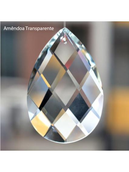 Amêndoa de Cristal Transparente