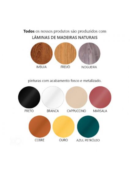 Plafon Redondo de Madeira