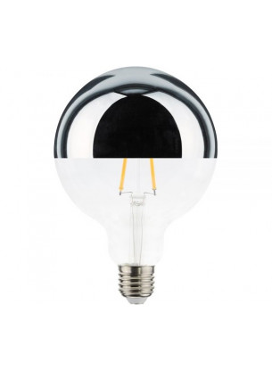 Lâmpada G125 Filamento Defletora 4,5W ÂMBAR