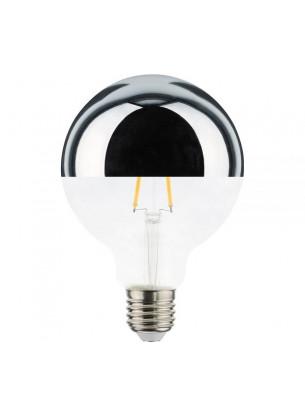 Lâmpada G95 Filamento Defletora 4,5W ÂMBAR