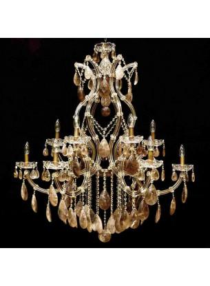 Lustre Cristal de Rocha | MT-108-12