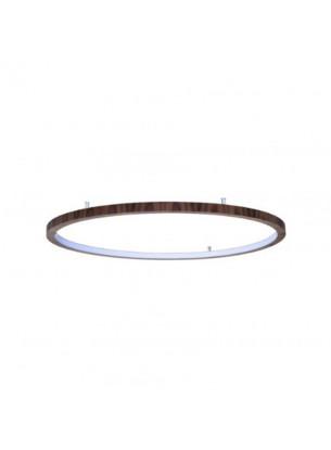 Plafon de Madeira Anel LED