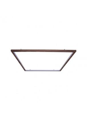Plafon de Madeira Quadrado LED