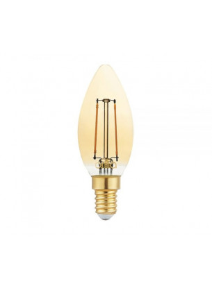 Lâmpada Vela Filamento Vintage 2,5W 127V